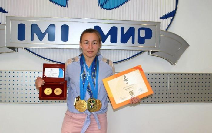 Российская дзюдоистка Дарья Межецкая – выпускница Университета «МИР»