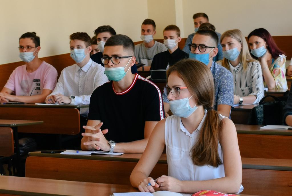 Первый учебный день в МИРе