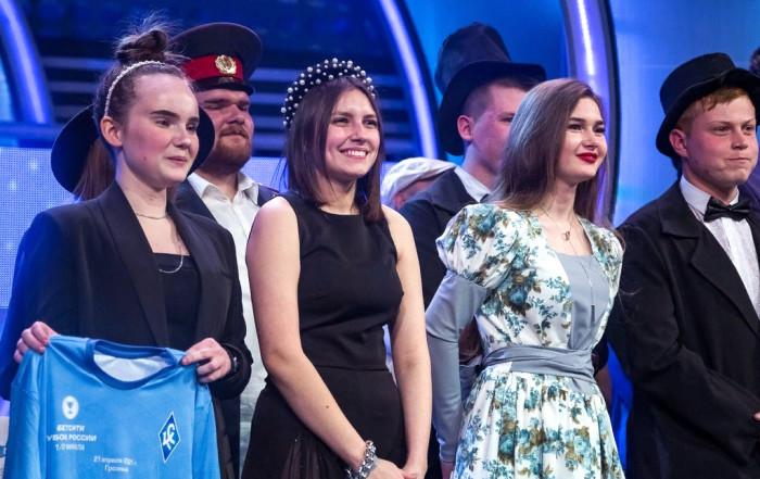 Команда КВН «Оля Как Всегда» в 1/4 финале